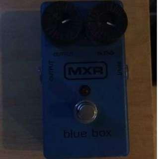 EHX Blue Box Octave Fuzz