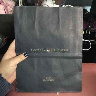 Tommy Hilfiger Paper Bag Small