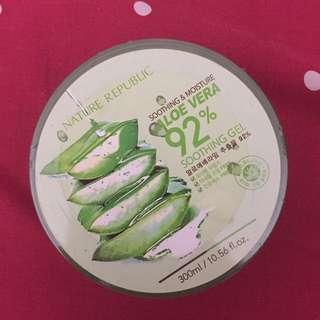 Nature Republic Aloe Vera 92% Masih Segel