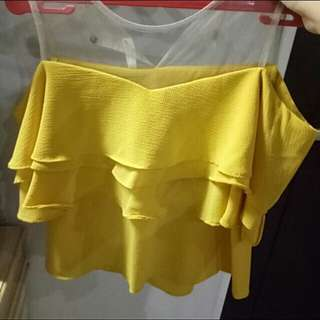 sabrina lace kuning