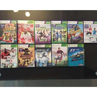 Pre-loved Xbox 360 games for sale! (PORTAL 2 LEFT)