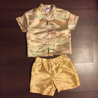 Boy's CNY Costume (for 3 year old)