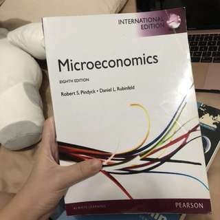 MICROECONOMICS TEXTBOOK PEARSON