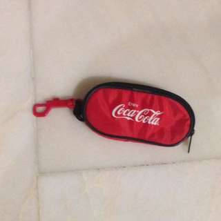 Spectacle pouch by Coca Cola