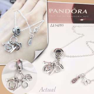 Pandora I Love You Necklace for valentine's day