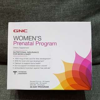 BNIB GNC Women's Prenatal Program