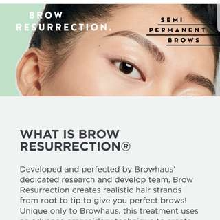 Brow resurrection classic