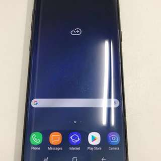 S8 Plus Midnight Black 64G 99%New