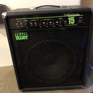 "Bass Guitar Amplifier - Trace Elliot ""Commando"""