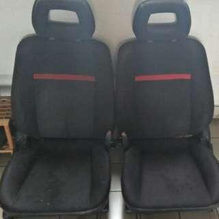 Wira SE Seat Full Set