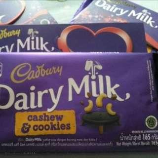 Coklat Cadbury 165gr