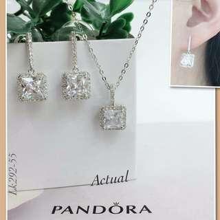 Pandora Set Necklaces & Earrings