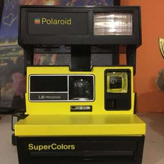 Vintage Polaroid Camera Supercolour