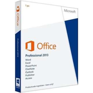 Microsoft Office 2013 Professional 2013 - Binow Australia