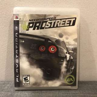Need for Speed (Pro Street) PS3 Game
