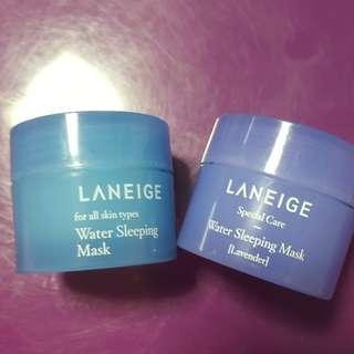 Laneige Water Sleeping Mask (Travel size of 15ml)