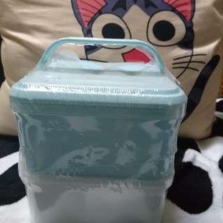 🌹情人節推介🌹野餐藍白食物盒🍙🍙
