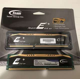Team Elite+ DDR3 4GB x2