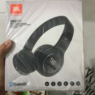 Headphone Headset Wireless Bluetooth JBL Duet Black