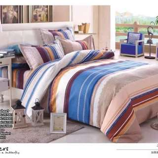 4in1 bedsheet size : SINGLE , DOUBLE , QUEEN , KING