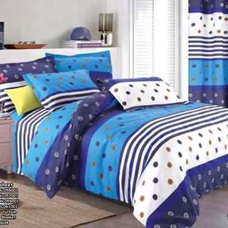 5in1 bedsheet size : SINGLE , DOUBLE , QUEEN , KING