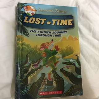 Geronimo: lost in time . The fourth journey through time