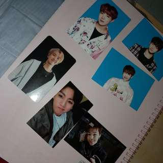 WTT / WTS BTS Official Pc and Photocard sleeve pocket