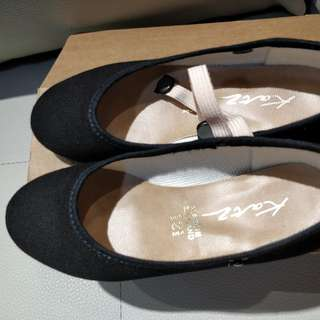Nafa ballet character shoes, leotard