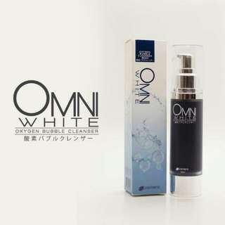 Omni White Oxygen Bubble Cleanser