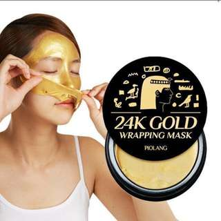 Piolang 24k gold mask