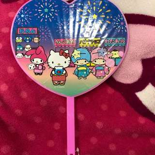 Sanrio Characters hand fan