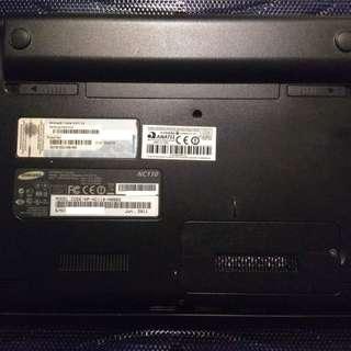 Samsung NC110 with 240GB SSD