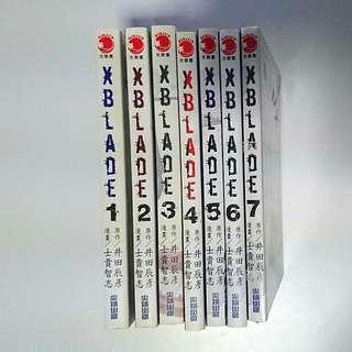 XBLADE Manga Comics Set (Chinese)