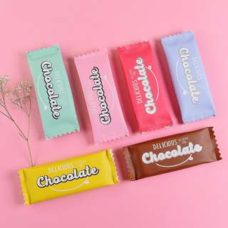 Delicious Chocolate Flat Pencil Case