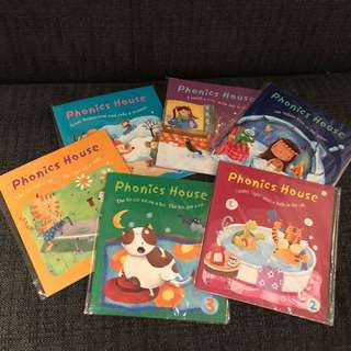 Brand new full set of <Phonics House> with CD