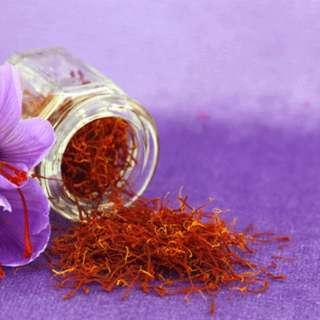Organic homegrown Saffron