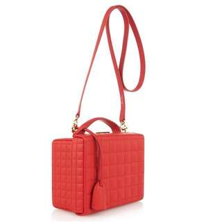 MARK CROSS GRACE QUILTED BOX BAG