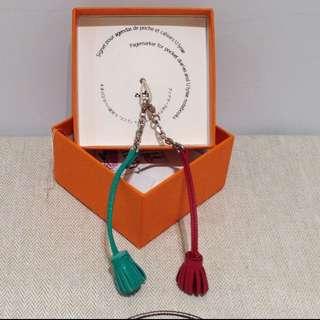 愛馬仕 Hermes 全新書簽仔 吊飾物 手袋 小禮物