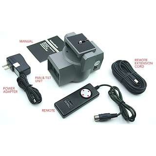 Bescor MP101 Motorized Pan and Tilt Head for All Cameras-Complete Kit