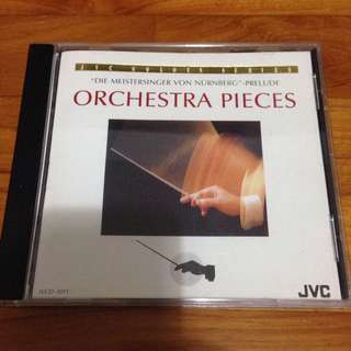 JVC Orchestra Pieces CD 1988
