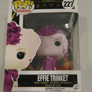 Funko POP Movies: The Hunger Games - Effie Trinket Action Figure