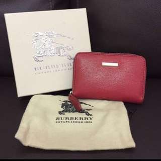 BURBERRY short wallet
