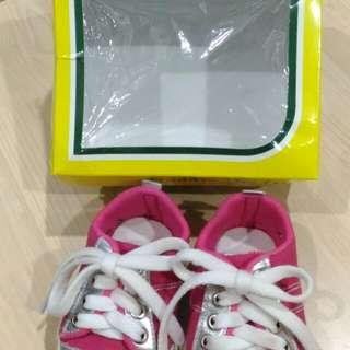#ImlekHoki Sepatu Prewalker Freddie The Frog - Lil' Foxy Pink