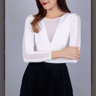 Ohvola white top
