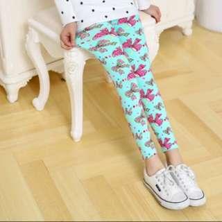 Multi Color Girl Pant Printing Flower children pants Spring Autumn kids leggings skinny summer girls leggings Kids Clothing