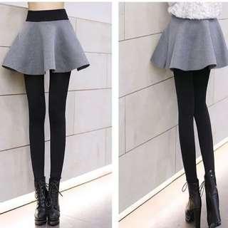 🚚 加厚鋪棉保暖假二件式褲裙