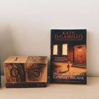 The Miraculous Journey of Edward Tulane - Kate DiCamillo  #huat50sale