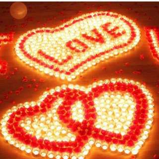 Propose led candlelight for rent