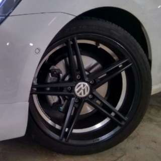"18"" Advanti N710 DST flow formed rims"