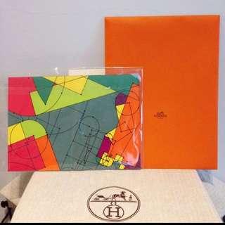 超高貴 愛馬仕 Silk Postcard Hermes 絲巾明信片 獨特 收藏價值